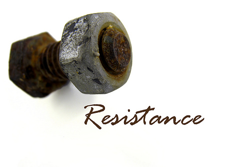 A Coaching Moment: Resistance is Futile