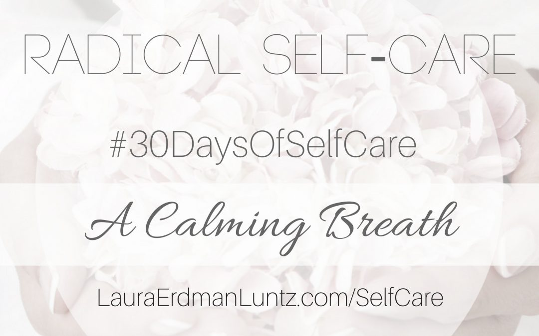 #30DaysOfSelfCare: A Calming Breath
