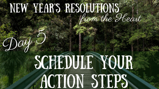 New Year's Resolutions from the Heart – Day 5