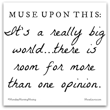 #MondayMorningMusing: It's a really big world