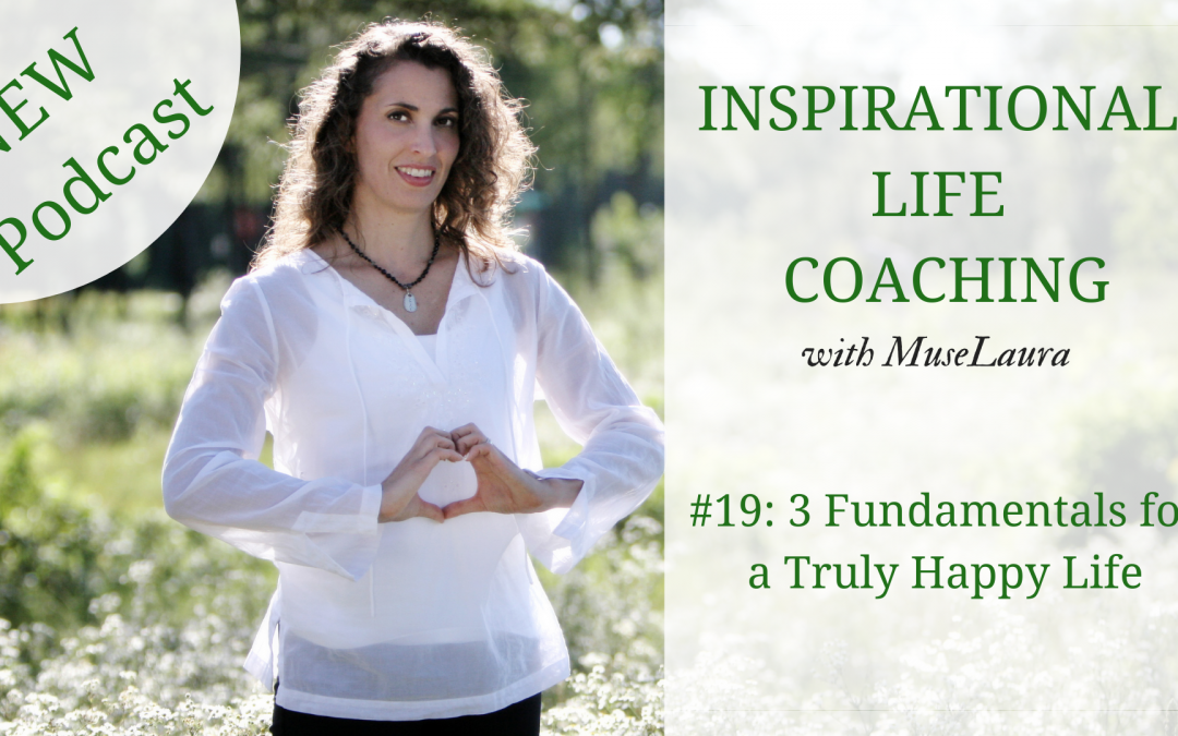 Podcast #19: 3 Fundamentals for a Truly Happy Life