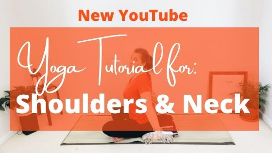 NEW YouTube: Shoulder & Neck Tutorial