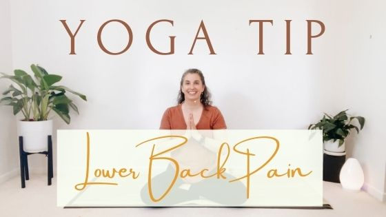 Yoga Tip to Keep the Lower Back Safe