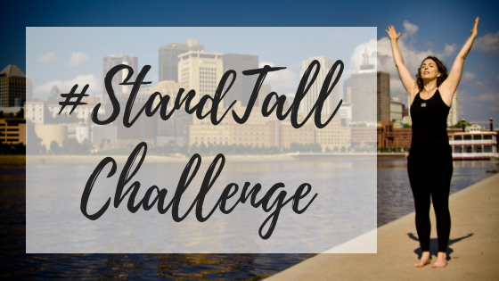 #StandTall Challenge Coming October 1!