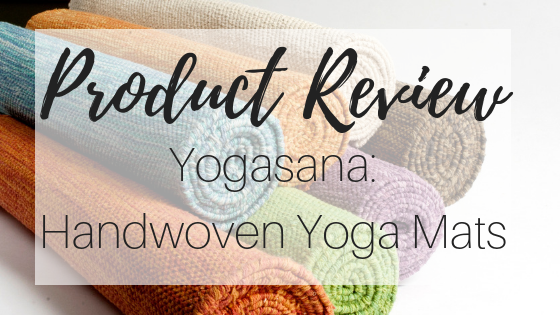 Product Review: Yogasana Woven Yoga Mats