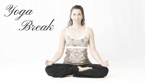 Yoga Break: Releasing Your Shoulders