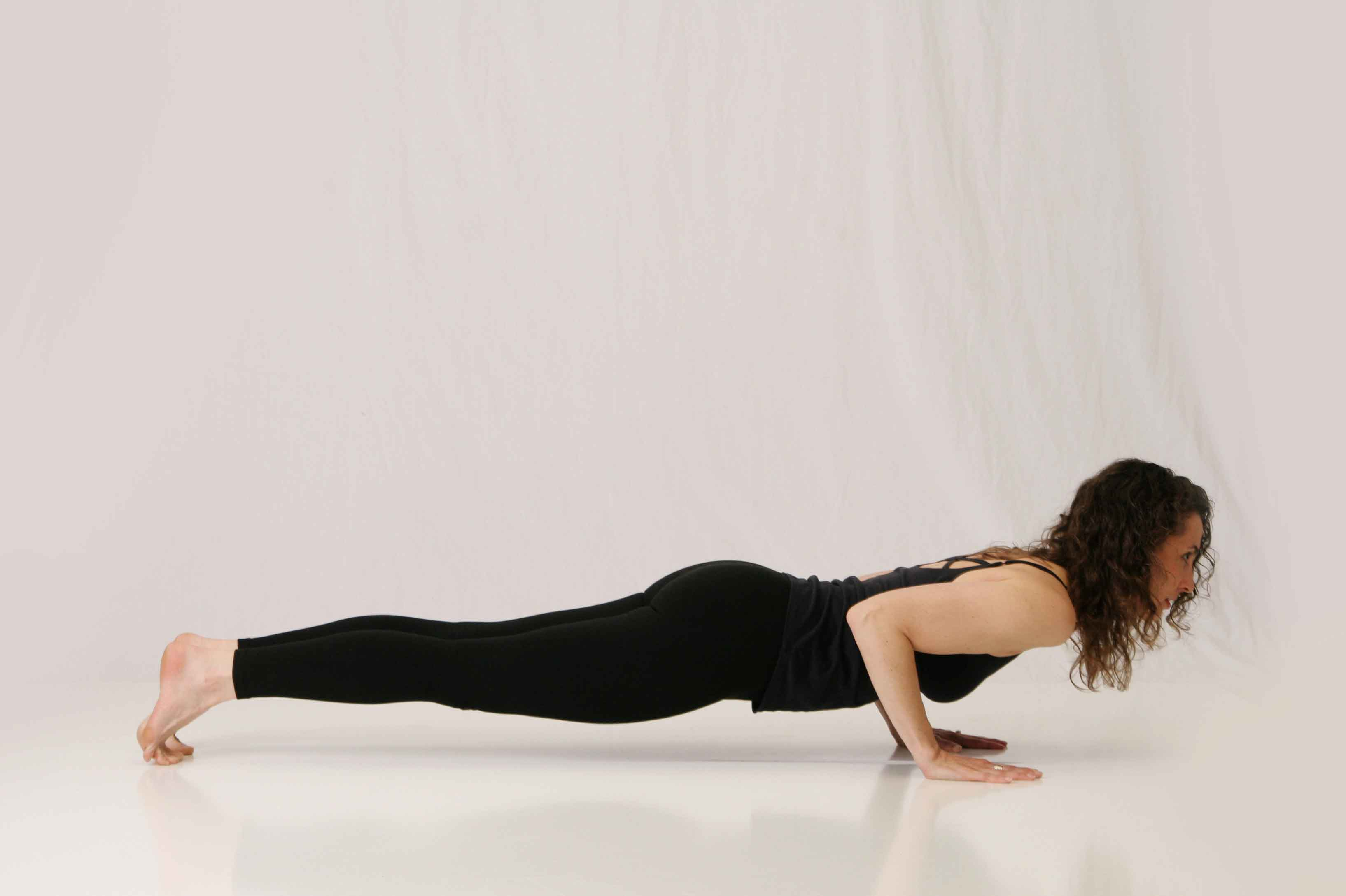 Study Points for the Yoga Pose of the Month: Chaturanga Dandasana (Four-Limbed Staff Pose)