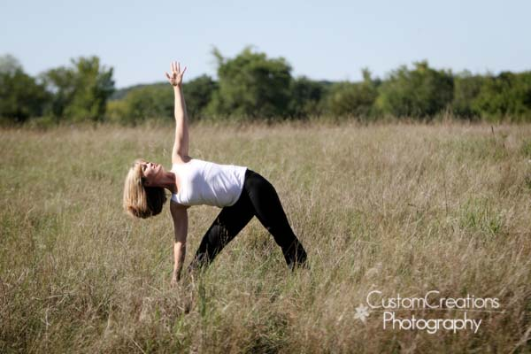 A Thought: Yoga Poses with Ease