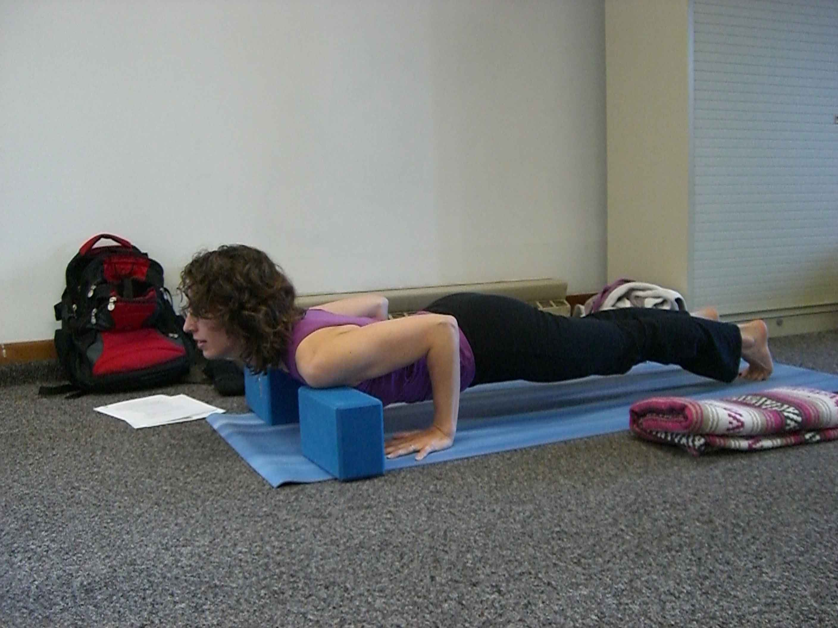 Chaturanga Dandasana (Four-Limbed Staff Pose):  Variations and Preps