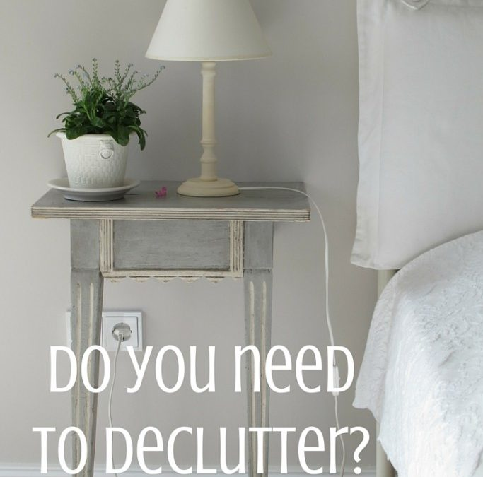 Decluttering: a crucial aspect of our personal growth