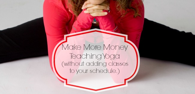Interview with Laura: Make More Money Teaching Yoga (without adding classes to your schedule)
