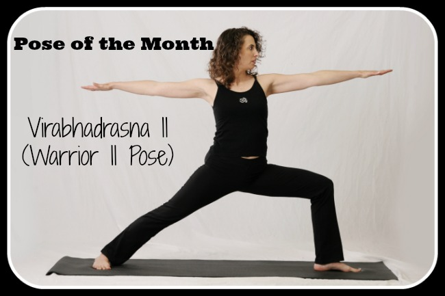 Study Points for the Yoga Pose of the Month: Virabhadrasana II (Warrior II Pose)