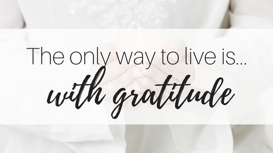 My Inspirational Year #3: Gratitude