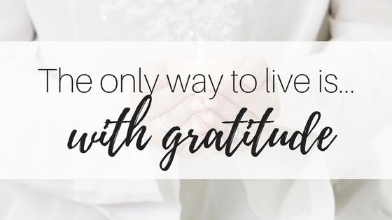 My Inspirational Year #3: Gratitude