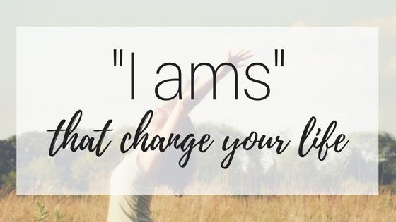 "My Inspirational Year #5: ""I ams"""
