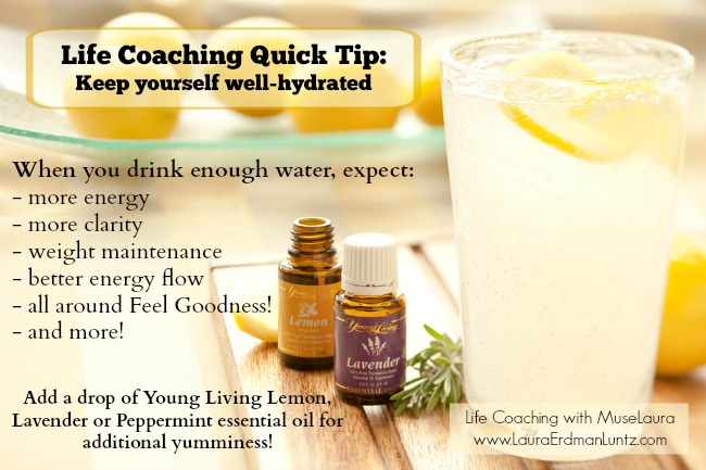 Hydration Inspiration | Life Coaching with MuseLaura