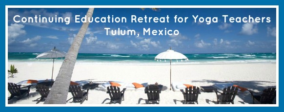 Continuing Education for Yoga Teachers Retreat to Mexico