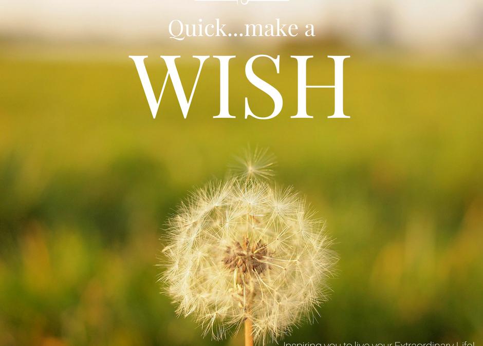 Setting Wishes this Sunday
