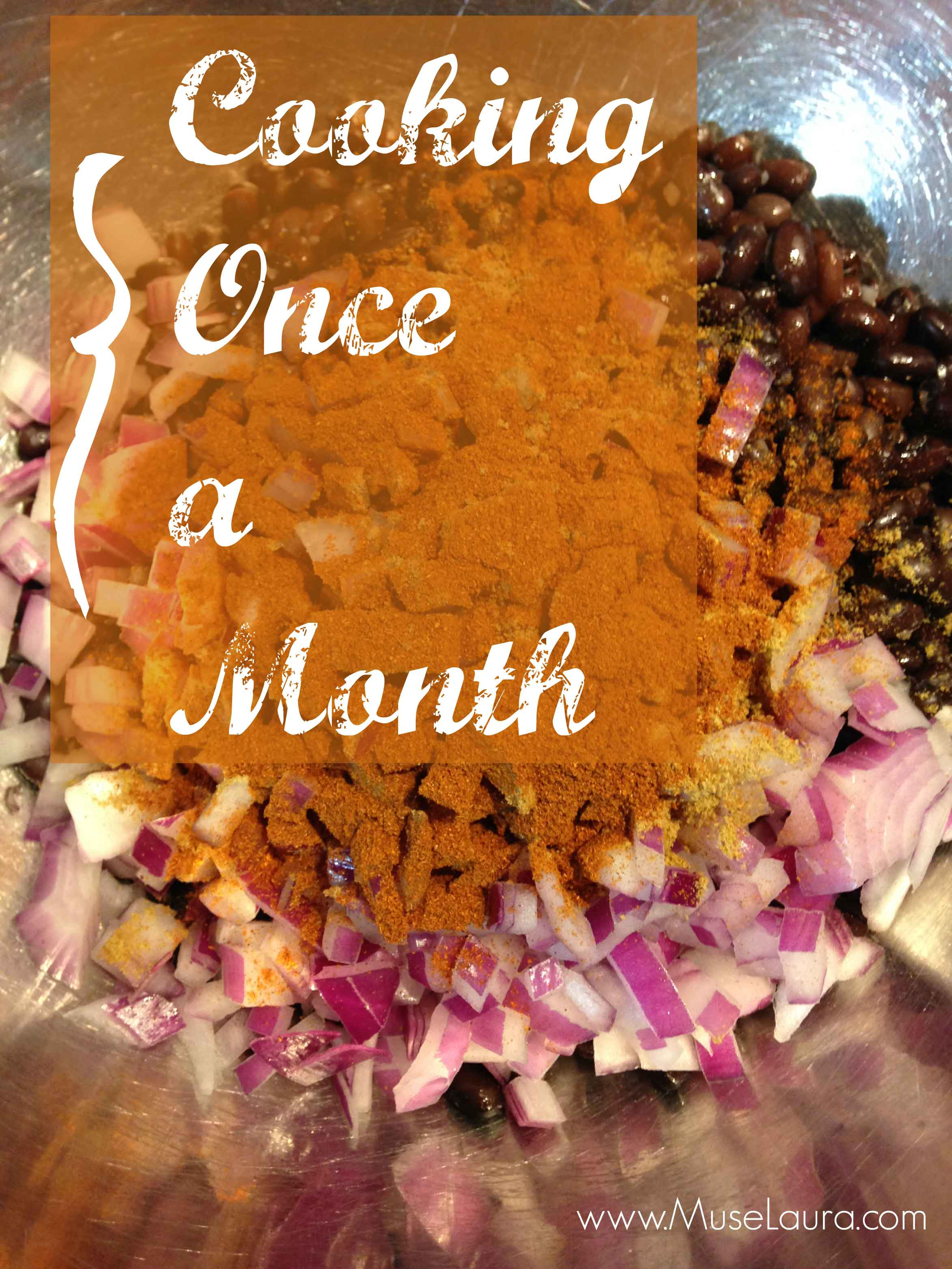 Once a Month Meals – Making life easier!