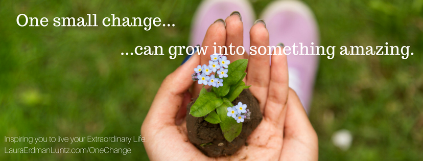#MondayMorningMusing: Don't Underestimate the Power of One Small Change
