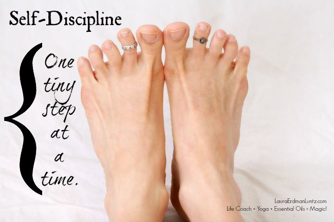 Self-Discipline: One tiny step | Life Coaching with MuseLaura