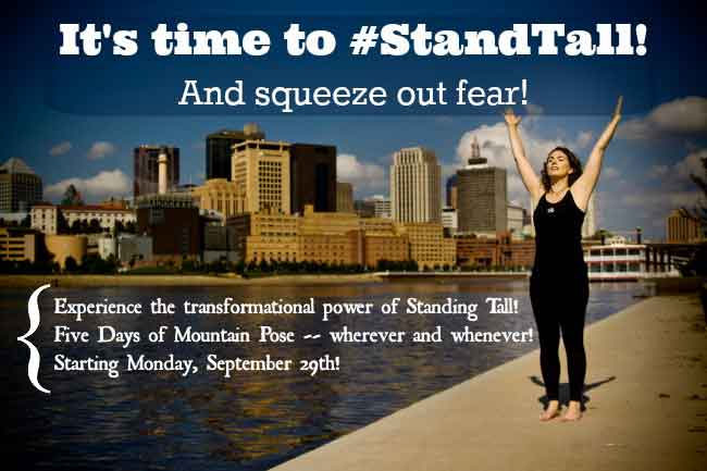 #StandTall for Courage! | Life Coaching with MuseLaura